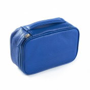 Small Utility Bag - Full Grain Leather - Cobalt