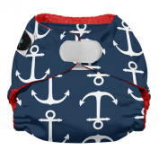 Imagine Baby Products Newborn Stay Dry All-in-One Hook and Loop Nappy, Overboard