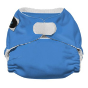 Imagine Baby Products Newborn Stay Dry All-In-One Hook and Loop Cloth Nappy, Indigo