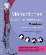 Memofiches Anatomie Veterinaire - Membres  [FRE]