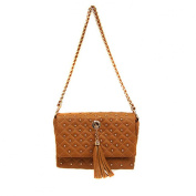 Quilted Handbag Brown