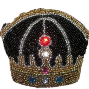 E.a@market DIY Crown Change Purse Pure Manual Beaded Coin Purse