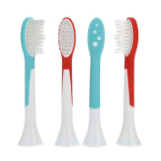 AOBILE(TM) Electric Toothbrush Replacement Heads Fits for Philips Proresults Sonicare Diamond Clean HX6044 4Pcs Tooth brush Heads