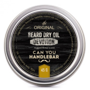 Devotion Beard Dry Oil   Best Natural Balm with Floral Scent  Pairs Perfectly with the CYHB Beard Oil Brush