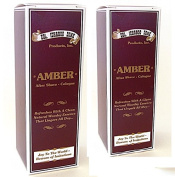 Col Conk Amber Aftershave-Cologne - 2 Pack