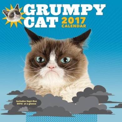 2017 Wall Calendar: Grumpy Cat: 2017