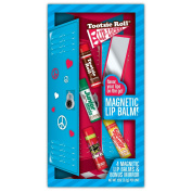 Lotta Luv 4 Pack Magnetic Lip Balm & Mirror Set - Candy