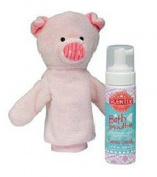 Scentsy Scrubby Penny the Pig Mit & Candy Dandy Scent Bath Smoothie