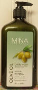 Mina Organics Olive Oil Body Wash, 530ml