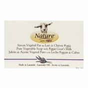 Pure Vegetable Soaps with Fresh Goat's Milk Lavender Oil 150ml