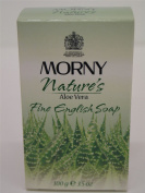 4 x Morny Nature's Aloe Vera Perfumed Fine English Soap 4x100g100ml