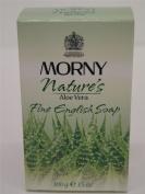 4 x Morny Nature's Aloe Vera Perfumed Fine English Soap 4x100g100ml