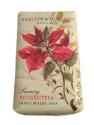 Asquith and Somerset Luxury Poinsettia Bath Soap 310ml