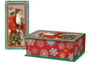 Punch Studio Christmas Holiday Rectangular Music Box Soap