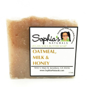Sophia's Naturals - Oatmeal, Milk and Honey Vegan Soap Bar - 180ml