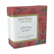 Mistral Luxury Bar Soap Winter Berry - Holiday Collection 200 g / 210ml