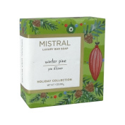 Mistral Luxury Bar Soap Winter Pine - Holiday Collection 200 g / 210ml