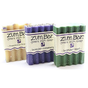 Indigo Wild Zum Bar Soap - 3 Lavenders - Pack of 3 Soaps