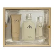 Sandora Fragrances Qk1 Gift Set for Unisex 100ml EDT + 100ml Lotion + 20ml EDP mini