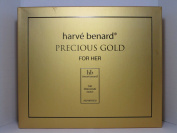 HARVE BENARD PRECIOUS GOLD FOR HER 3 PCS GIFT SET FOR WOMEN Eau De Parfum Spray 3.4 Oz / 100 ml, Eau De Parfum Purse Spray 0.34 Oz / 10 ml, Body Lotion 6.8 Oz / 200 ml BRAND NEW GIFT SET