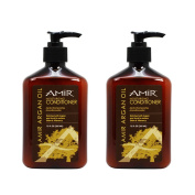 "Amir Argan Oil Moisturising Conditioner 350ml ""Pack of 5.1cm"