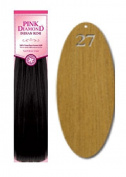 Pink Diamond Human Hair Weave - Remi Yaki 36cm - #27 Blonde - Size