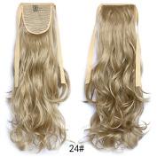 #24 Wavy Ribbon Hair Ponytail