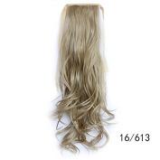 #16_613 Wavy Ribbon Hair Ponytail