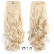 #22_613 Wavy Ribbon Hair Ponytail