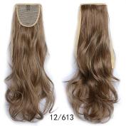 #12_613 Wavy Ribbon Hair Ponytail