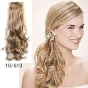 #10_613 Wavy Ribbon Hair Ponytail