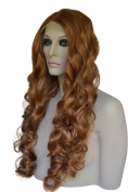 Long, Red, Wavy, Lace Front Wig. Colour 30