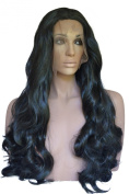 Curly Lace Front Wig Colour 1b Black