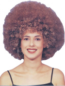 Fancy Dress Party Headwear Accessory African Style Big Afro Hair Wig Brown