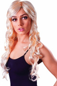 Ladies Fancy Dress Party Accessory Vixen Wavy Curly Long Fake & Artificial Wig