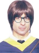 Men Fancy Dress Party Harry Potter Wizard Boy Straight Short Fake Artificial Wig