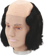 Mens Fancy Dress Halloween Party Max Wall Bald Head Fake & Artificial Wig