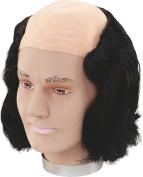 Mens Fancy Dress Halloween Party Max Wall Bald Head Fake & Artificial Wig