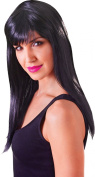 Ladies Fancy Dress Party Passion Long Straight Long Fake & Artificial Wig
