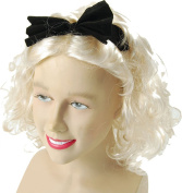 Ladies Fancy Dress 1980s Party Material Girl Short Fake & Artificial Wig