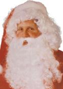 Mens Fancy Dress Christmas Party Fake Father Artificial Xmas Beard/wig Set
