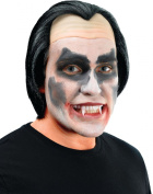 Mens Fancy Dress Halloween Party Vampire Dracula Vinyl Fake & Artificial Wig