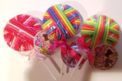 LOLLIBANDS ELASTIC HAIR BANDS (3-PACK) RANDOM ASSORTMENT