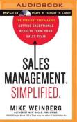 Sales Management. Simplified. [Audio]