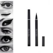 Black Liquid Eyeliner Pen Makeup Eye Liner Pencil Waterproof Sweatproof Perfect Three-dimensional Cosmetics