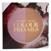 Nonie Creme Colour Prevails Bashful Biscuit Blush / Bronzer Duo, English Rose (Rose), .710ml
