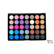 Bebella 35 Eyeshadow Palette with Sleek Case, Mirror and 2 Applicarors HIQH QUALITY