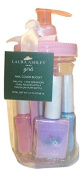 Laura Ashley Girls Nail Polish Bucket Gift - Pink, Purple, Blue, Clear