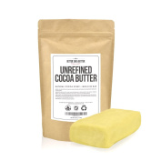 Cocoa Butter Mini Bar - 240ml of Pure, Unrefined Cocoa Butter - Use Directly on Stretch Marks or Make Awesome DIY Skin Care Products - Now Available in Convenient 240ml Size