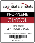 Propylene Glycol, 950ml/ 0.9l, USP-Grade, Used As Moisturiser in Medicines, Cosmetics, Food, Toothpaste, Shampoo, Mouth Wash and Hair Care.